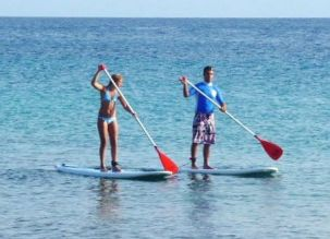Paddle couple